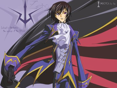 code geass lelouch of rebellion