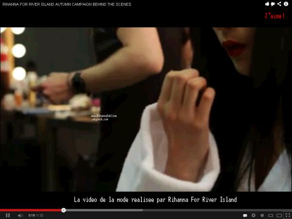 12/08/2013: LA COLLECTION « Rihanna For River Island révélé!