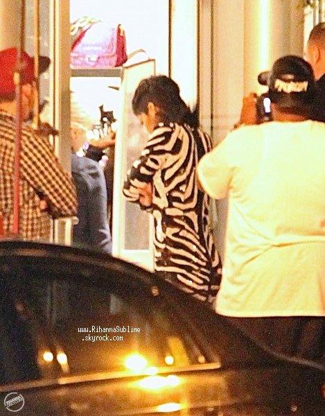 15/08/2013: Rihanna tourne une vidéo/clip A$hap Rocky