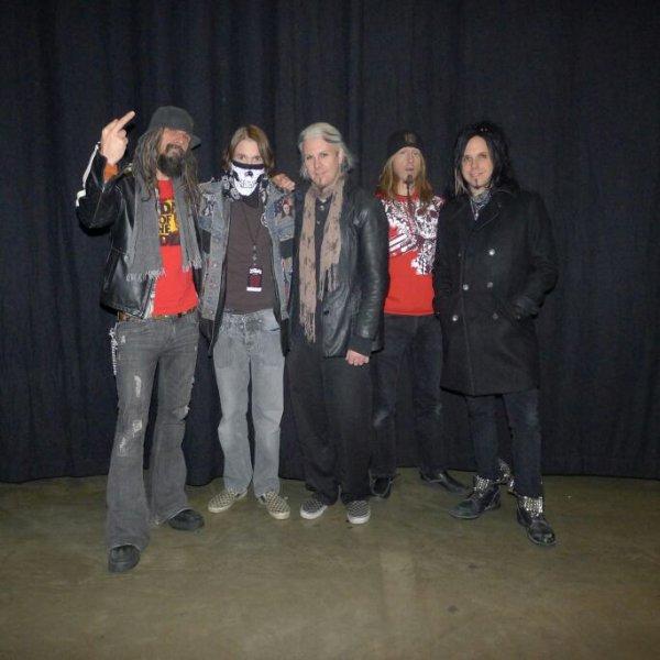 Ma rencontre avec John-5 et Rob Zombie.