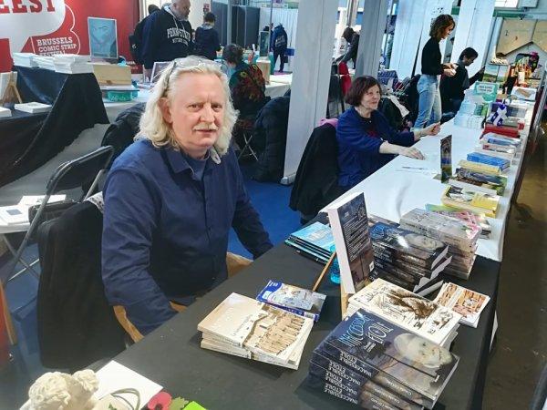 Foire du livre Bruxelles 2018