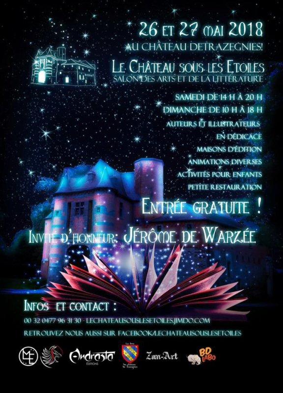 Le château sous les étoiles.