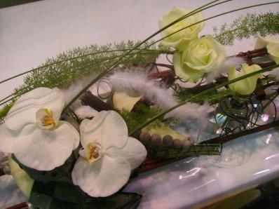 Olympiades des métirs 2012: Chemin de table pour un mariage
