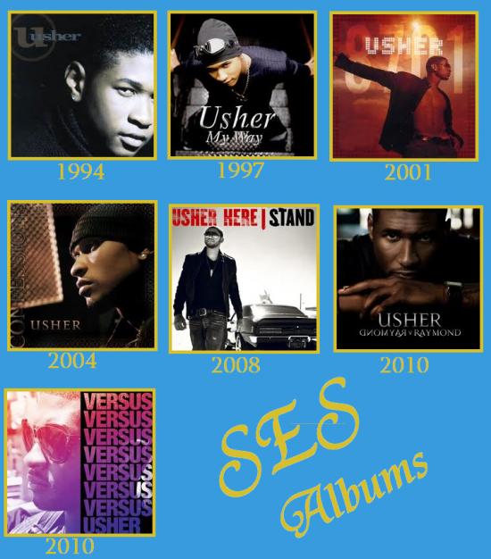 LES ALBUMS D'USHER !!!