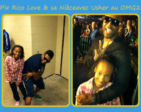 Photo que Usher a postée sur son FaceBook ce vendredi !!!