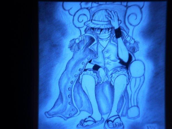 Luffy le roi du One Piece