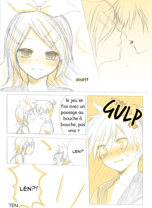 Kagamine Len et Rin traduction : Mini doujinshi 10 (2)