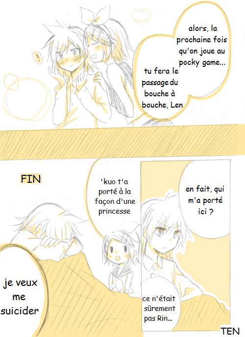 Kagamine Len et Rin traduction : Mini doujinshi 10 (3)