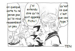 Kagamine Len et Rin Traduction : Mini doujinshi 11