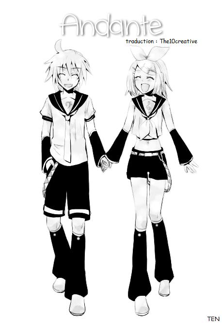 Kagamine Len et Rin traduction : Mini doujinshi 12 (0)