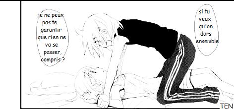 Kagamine Len et Rin traduction : Mini doujinshi 12 (1)