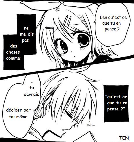 Kagamine Len et Rin traduction : Mini doujinshi 13
