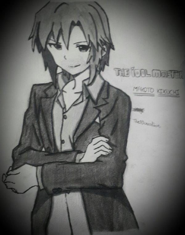 The idolm@ster- KIKUCHI MAKOTO (dessin)