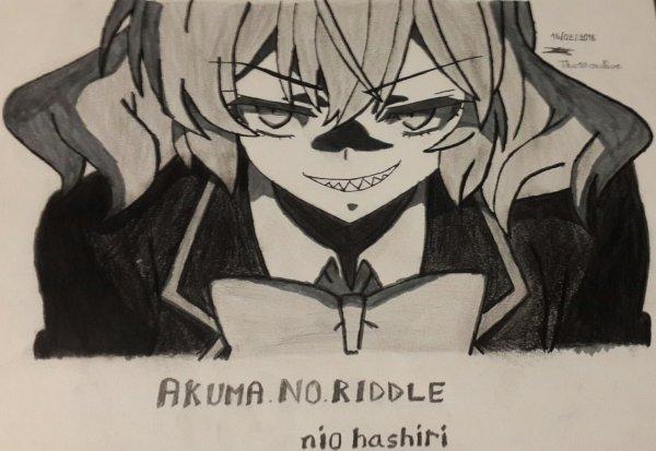 Akuma no Riddle - NIO HASHIRI (dessin)