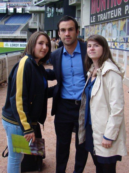 Après Match : photos avec les joueurs de l'Asm !