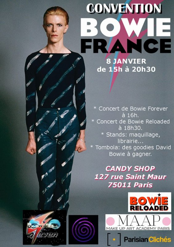 CONVENTION BOWIE FRANCE