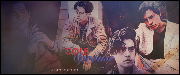 * ● ● Bienvenue sur ColeSprse, ta source d'actualité complète sur le beau Cole Sprouse. Suivez toute l'actualité du ravissante et talentueux Cole grâce aux différents articles tels que  candids, événements, photoshoots et autres...  *