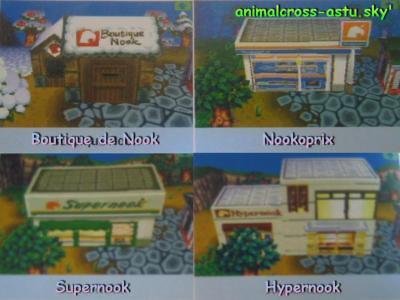 Les magasins Nook