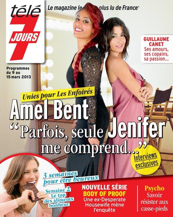 L'after de The voice + l'age de la passion jenifer ( 50 MinInside ) + magazine couverture Jen et Amel :)<3