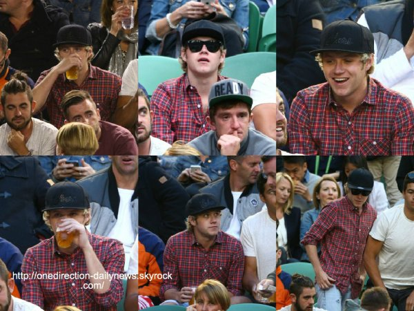 Découvrez des photos des gars dans les coulisses du Ellen Show à Los Angeles (20 novembre 2014)