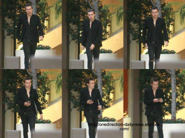 28 janvier 2015 : Liam et Louis ont été dans un studio à Los Angeles