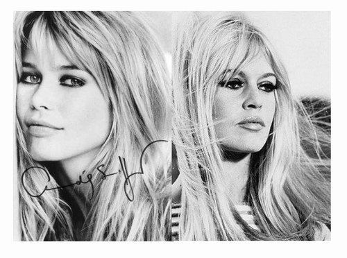 claudia schiffer et brigitte bardot blog de ressemblance de stars. Black Bedroom Furniture Sets. Home Design Ideas