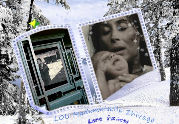 "Lara Fabian - Lou (Колыбельная) album "" Mademoiselle Zhivagoo ""  single 7"