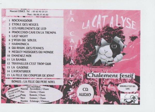 Le CD de La Cat A Lyse