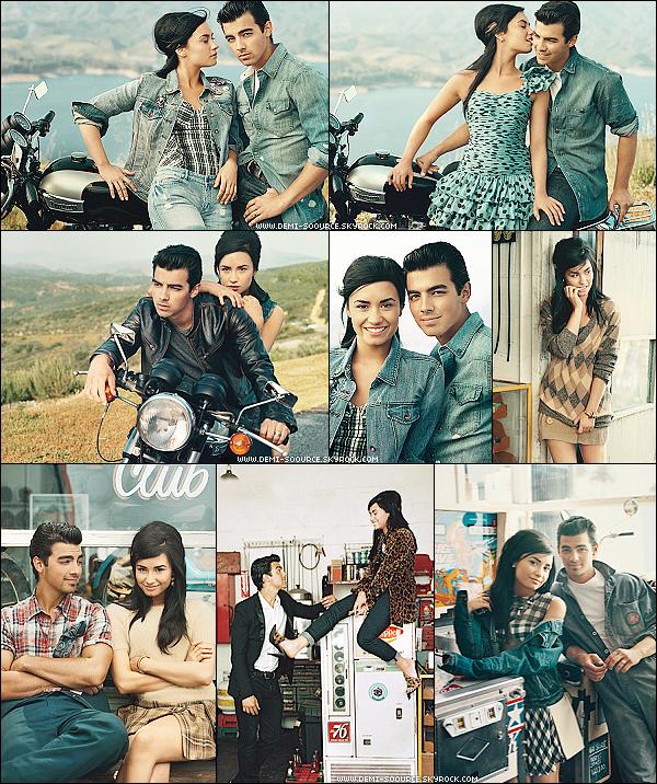 * Découvrez le shoot de Joe Jonas et Demi pour le magazine Teen Vogue du mois d'aôut 2010.   *
