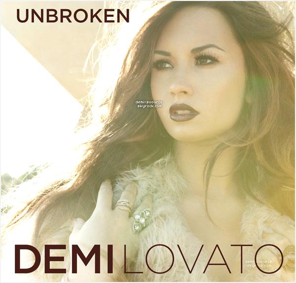 * Découvrez la pochette de l'album « Unbroken », qui sort le 20 septembre prochain !  *