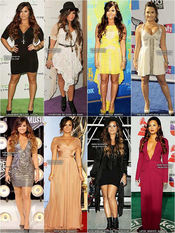 * RECAP 2011 - Quelle a été sa plus belle tenue lors des évènements ? *