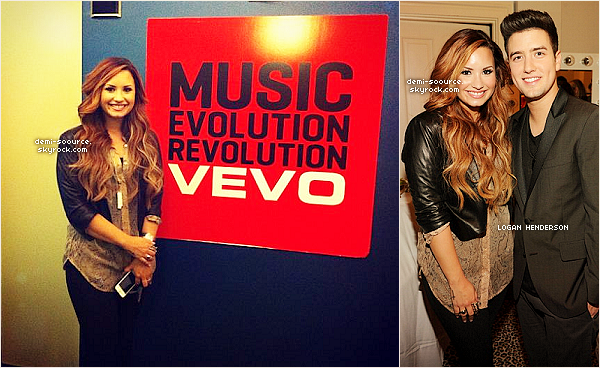 *  08.03.2012 : Demi Lovato, arrivant aux studios de la radio Sirius XM, dans l'après-midi. (NYC)  *
