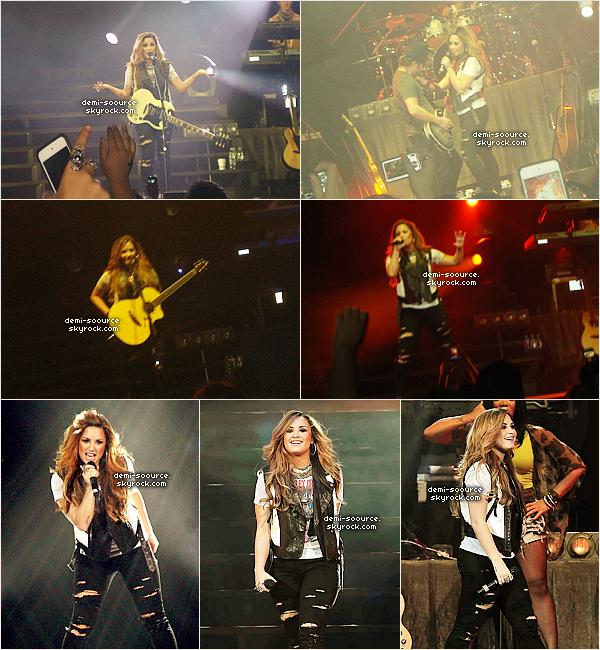 *  03.05.2012 : Demi Lovato a terminé sa tournée en Amérique du Sud à Monterrey. (Mexico)   *