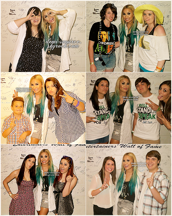 * 11.08.2012 : Demi Lovato a donné un concert à Springfield. (Illinois)  *
