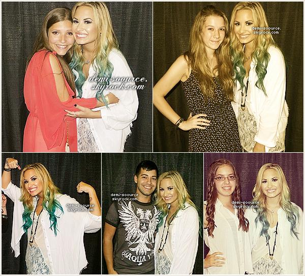 * 12.08.2012 : Demi Lovato s'est produite à Camden, au New Jersey.  *