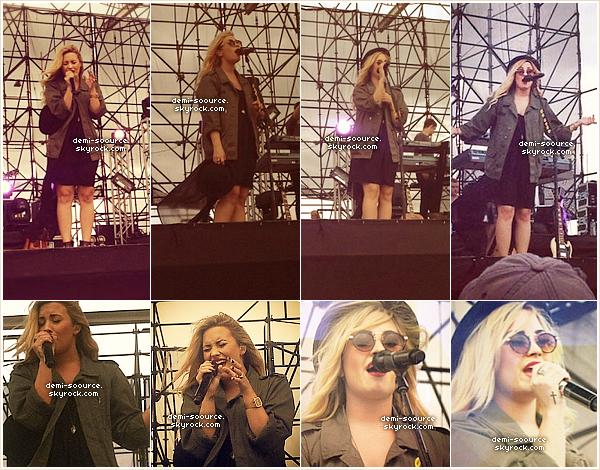 * 27.08.2012 : Demi Lovato a donné un concert à Essex Juction. (Vermont)  *
