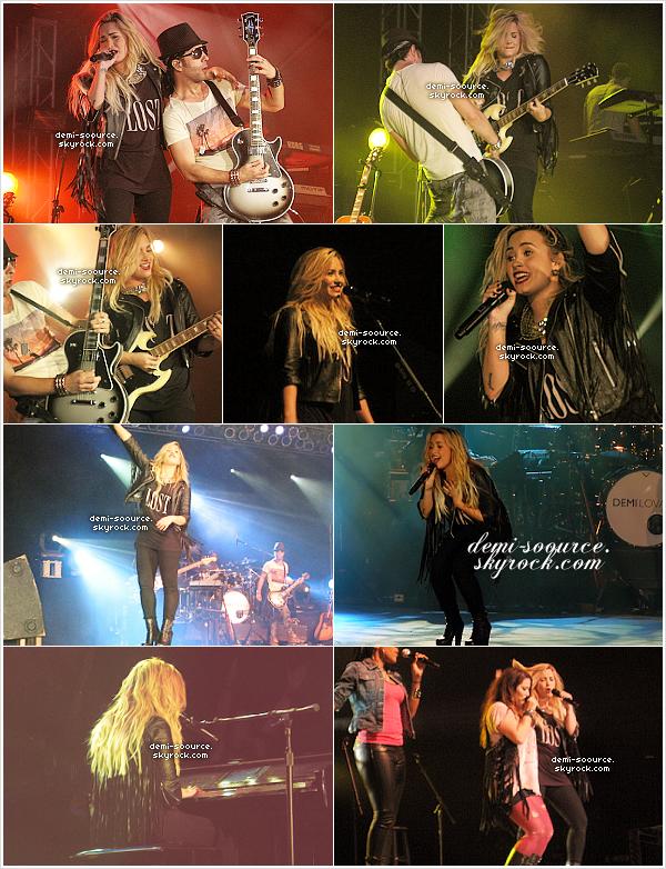 * 01.09.2012 : Demi Lovato a donné un énième concert, à Salem. (Oregon)  *