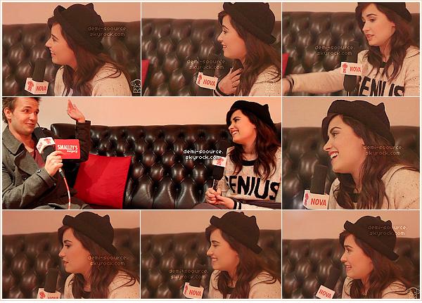 *  27.02.2013 : Interviewée dans l'émission « Smallzy's surgery », pour la radio australienne.          *