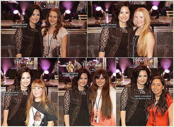 *  27.03.2013 : Demi Lovato était cette fois-ci à Moscou, en Russie. Etant malade, elle a annulé les interviews ainsi que sa présence dans une émission russe.     *