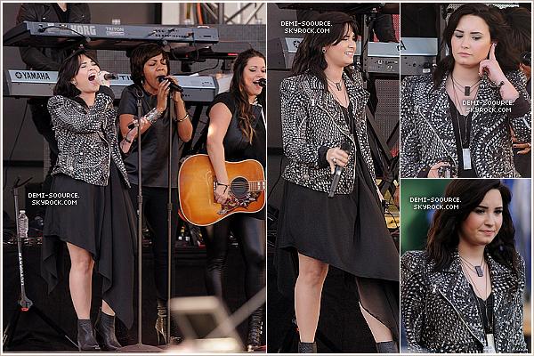 *  01.04.2013 : Demi Lovato était invitée à l'émission de Jimmy Kimmel Live. Elle a chanté, pour la première fois à la télévision américaine, son single Heart Attack.    *