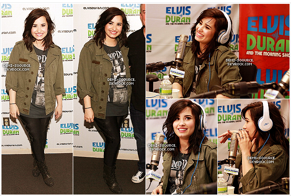 "*  11.04.2013 : Demi était invitée à l'émission Live with Kelly & Michael. (NY) ______________Elle a été interviewée et a chanté son nouveau single ""Heart Attack"". *"