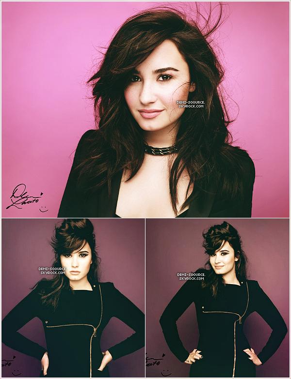 * Découvrez le photoshoot pour le magazine néo-zélandais « Girlfriend » ...  ________________________... dont Demi Lovato fait la couverture ce mois. (voir)         *