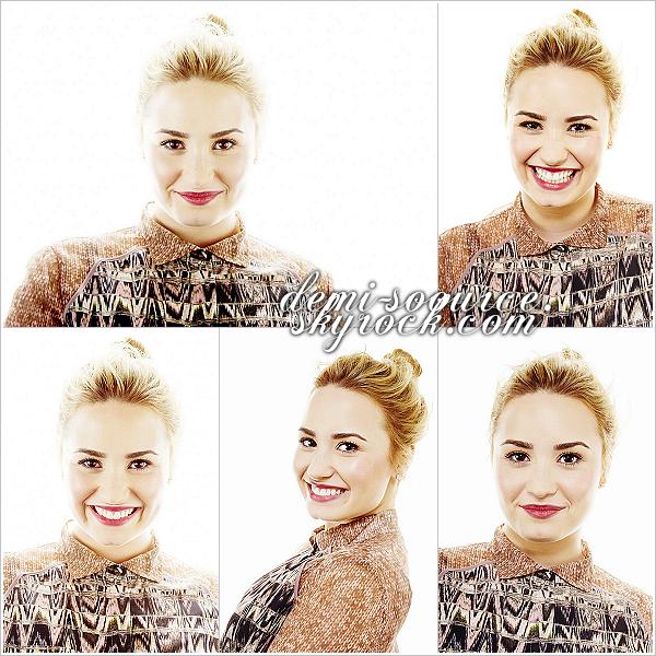 *15.05.2013 : Demi était invitée sur le plateau de l'émission de Jimmy Fallon. (NYC)      *