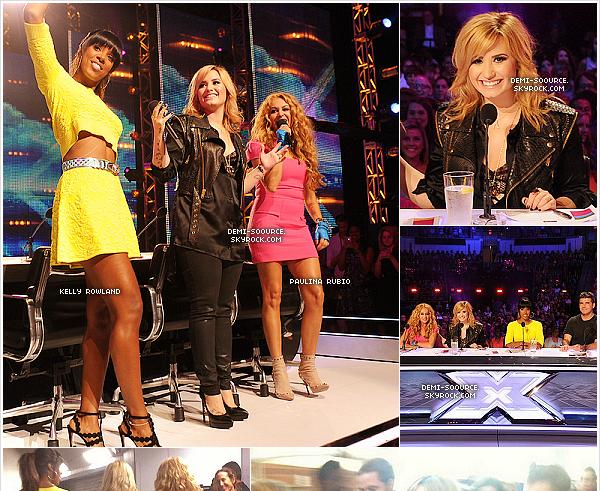 *21.05.2013 : C'est à Charleston  (SC) qu'ont eu lieu les premières auditions d'X Factor USA.   Les juges sont : Simon Cowell, Demi, Kelly Rowland et Paulina Rubio. | L'émission sera diffusée à l'automne sur FOX.  *