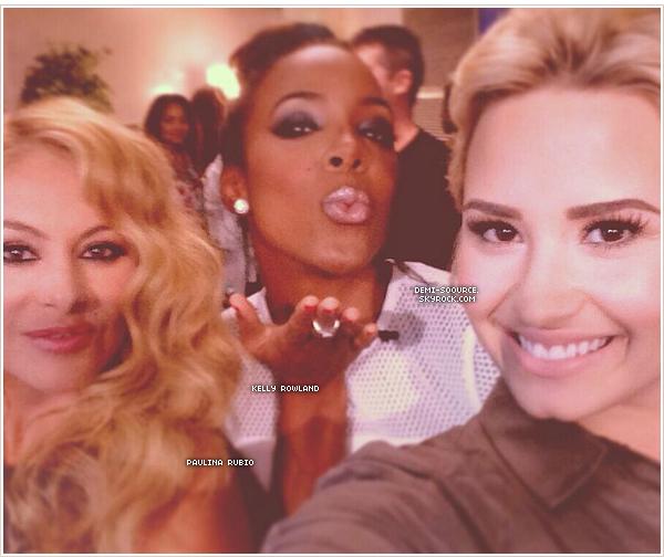 *11.06.2013 : Demi était aux studios X Factor USA pour les auditions, à New Orleans.   _________________ Les juges, cette année, sont : Demi, Simon Cowell, Kelly Rowland & Paulina Rubio. *
