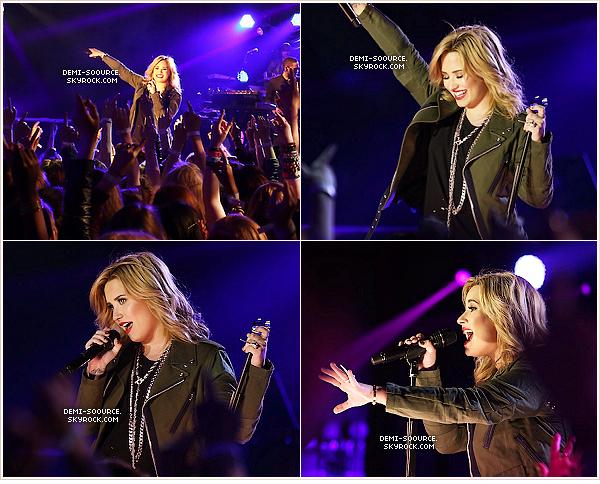 *31.05.2013 : Demi a donné un petit concert filmé par VEVO, devant 300 fans, à Londres.    *