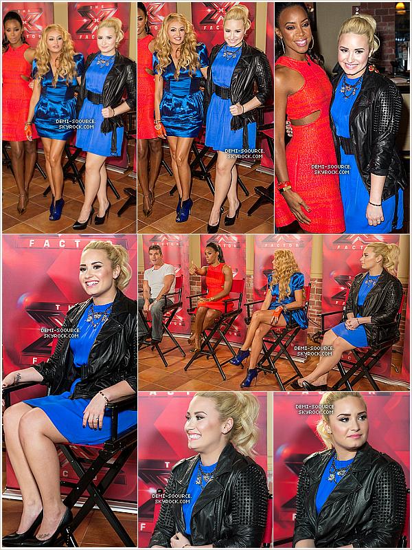 *19.06.2013 : A New York ont eu lieu des auditions X Factor USA.   _______L'émission sera diffusée sur la chaîne américaine FOX dès cet automne. *