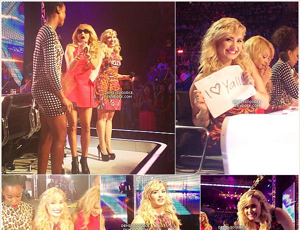 *21.06.2013 : Troisième et dernier jour d'auditions X Factor USA à New York.  *