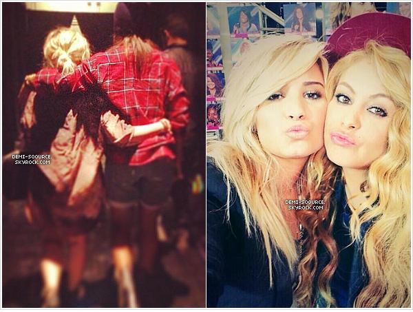 * Kelly Rowland & Paulina Rubio ont récemment posté deux photos avec Demi ...        *
