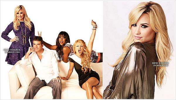 *  Découvrez un extrait du photoshoot promotionnel pour X Factor USA, saison 3.        *